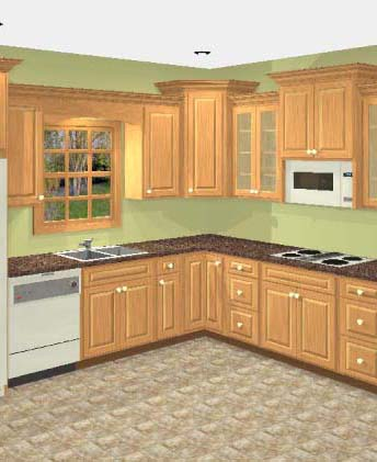 RTA Kitchen Cabinet Design