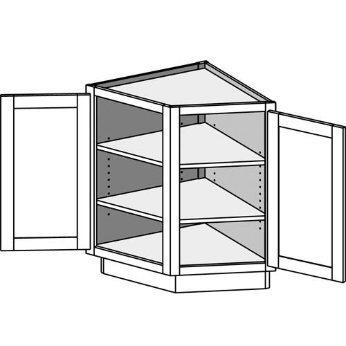 Awesome Base Angle End Cabinet