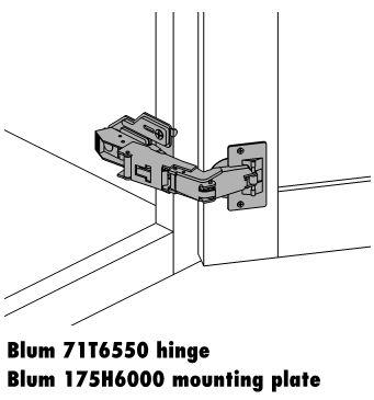 blum 170 degree susan hinge cabinet options   cabinet joint  rh   cabinetjoint com