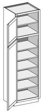 Vanity Utility Cabinet w/Single Door