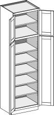 Vanity Utility Cabinet w/Butt Doors