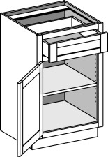 Vanity Base Cabinets – Single Door