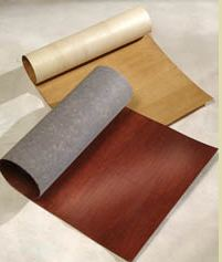 Veneer poly or wood back cabinet joint for Laminate sheets for cabinet refacing