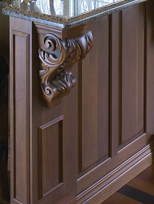 Corbels Amp Bar Supports Cabinet Joint