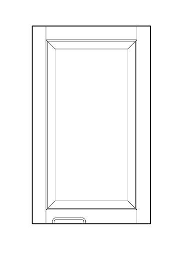 Hand Pull Front Of Door Cabinet Joint