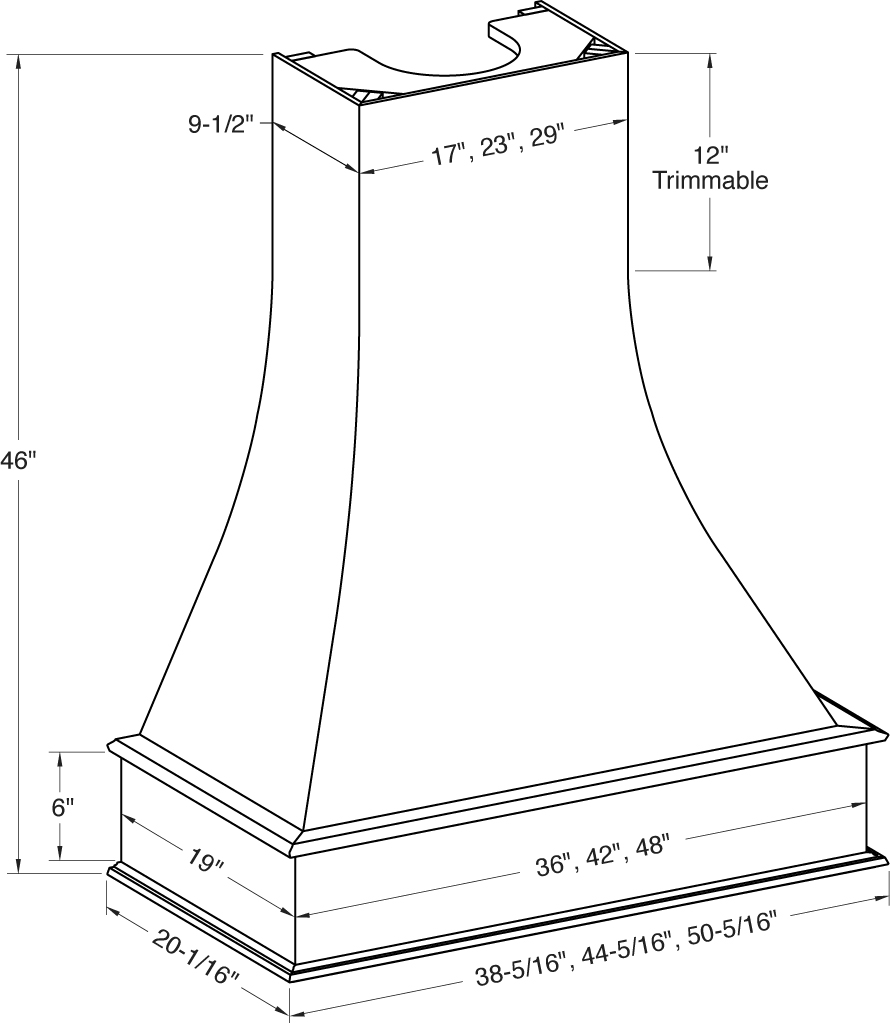 Artisan Range Hood Cabinet Joint