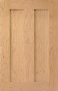 Amesbury Door, Quarter Sawn Oak (customer finsihed).