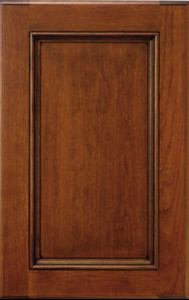 TW-10 door with wide frame and beaded inset cabinet. Prism paint custom colors.
