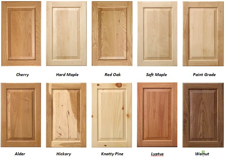 Cherry Veneer Kitchen Doors
