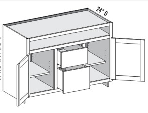 Media Center – 2 Door 2 Drawer