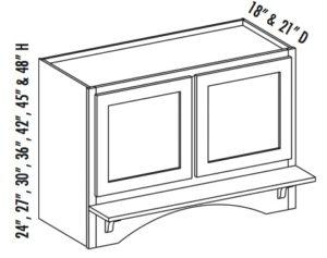 Range Hood Cabinet Center Stile