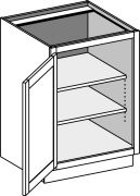 Base Full Door Cabinet w/ Single Door