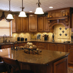 RTA Custom Cabinet Kitchen