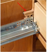 Blum Tandem Drawer Mounting Bracket for Inset Cabinets