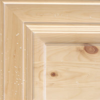 Pine - Natural w/White GLaze & Medium Distress