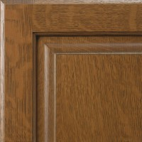 Quarter Sawn White Oak - Colonial w/Brown Glaze