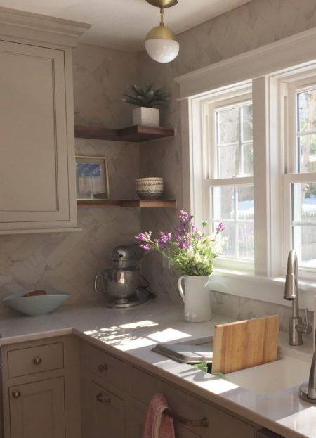 Fusco Job: Flush inset, Madison Door, Hearthstone Grey paint
