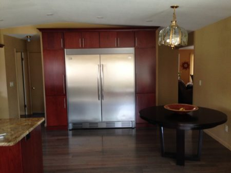 Giaier Project: Astoria door, Full overlay, Cherry with Cordovan wiping stain.