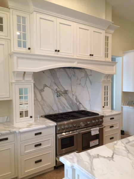John S Project: CRP-101728 in Crystal White, Flush inset.