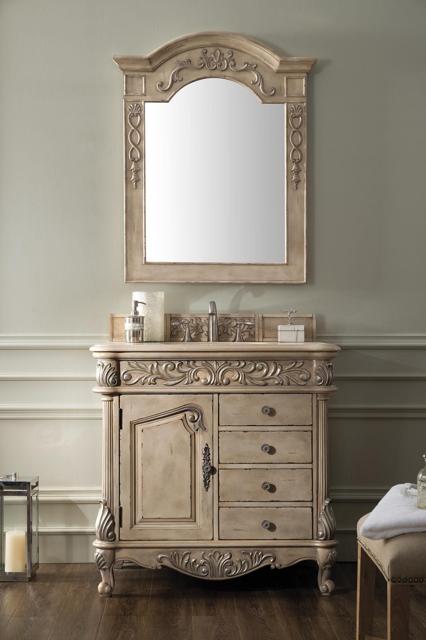 Monte Carlo 36 Single Vanity Empire Linen Cabinet Joint