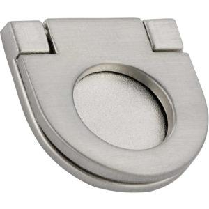 Contemporary Recessed Metal Pull - 7732