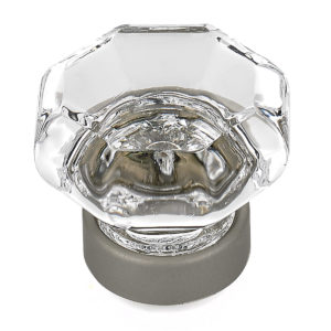Eclectic Crystal and Metal Knob - 1007
