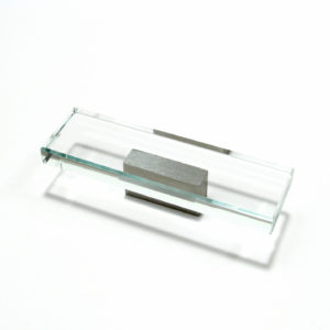 Contemporary Glass and Metal Pull - 2024