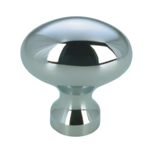 Contemporary Brass Knob - 144