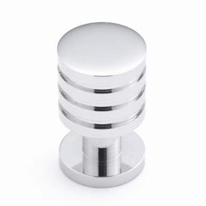 Contemporary Metal Knob - 3902