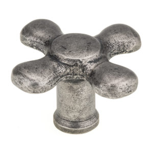Eclectic Wrought Iron Knob - 7755