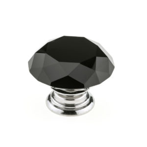 Contemporary Crystal Knob - 8776
