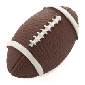 Eclectic Polyester Football Knob - 9348