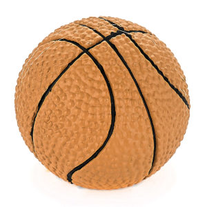 Eclectic Polyester Basketball Knob - 935000