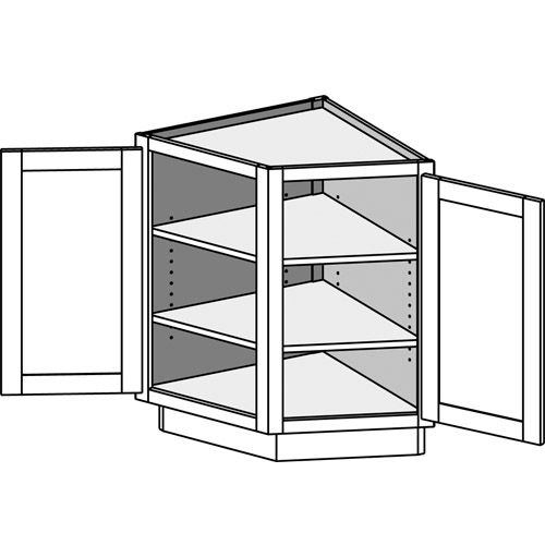 Base Angle End Cabinet Bae Csbae Cabinet Joint