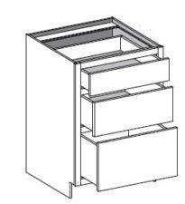 Base Cabinet – 3 Drawer