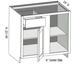 Blind Corner Cabinet Right