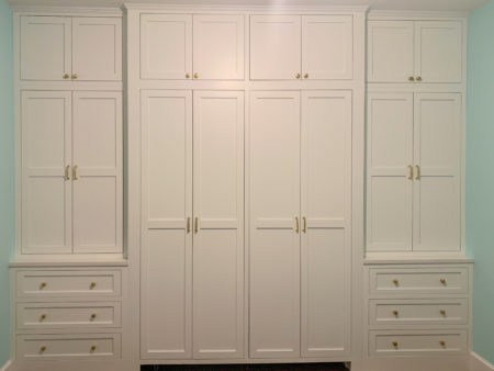 Flush Inset, Albany Door, & Arctic White