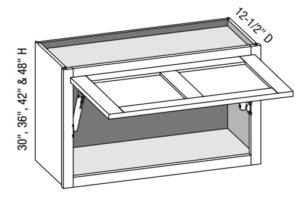 Wall Cabinet w/ HK-XS Lift System
