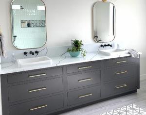 Bath and vanity cabinets