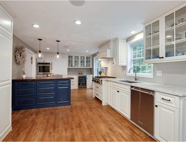 Large kitchen upgrades sample