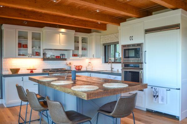 mountain cabin kitchen